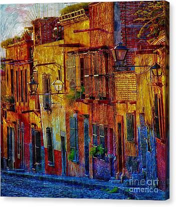 Vg On My Way Home Canvas Print by John  Kolenberg