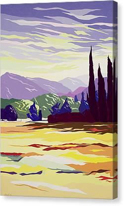 Vicopelago - Lucca Canvas Print by Derek Crow