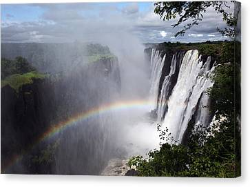 Victoria Falls, Livingstone, Zambia Canvas Print by Dietmar Temps, Cologne