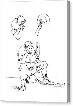Vietnam War Art-6 Canvas Print by Gordon Punt
