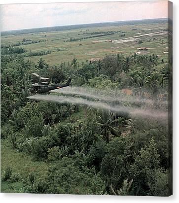 Vietnam War, Defoliation Mission Canvas Print by Everett