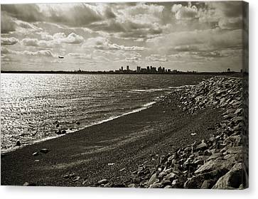 View From The Island Canvas Print by Andrew Kubica