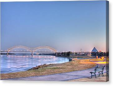 View From The Park Canvas Print by Barry Jones