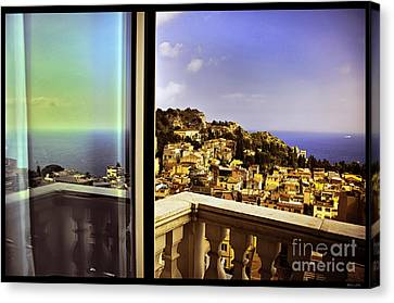 View From The Window Canvas Print by Madeline Ellis
