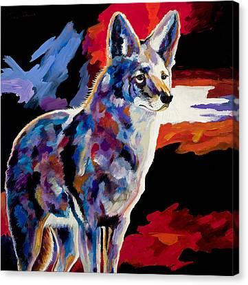 Vigilant Canvas Print by Bob Coonts