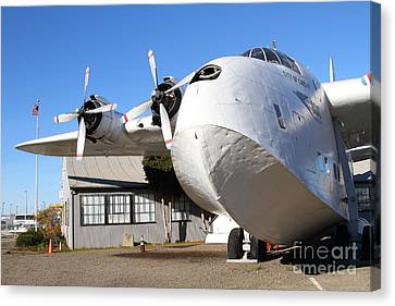 Vintage Boac British Overseas Airways Corporation Speedbird Flying Boat . 7d11276 Canvas Print by Wingsdomain Art and Photography