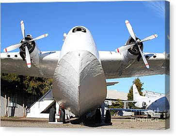 Vintage Boac British Overseas Airways Corporation Speedbird Flying Boat . 7d11278 Canvas Print by Wingsdomain Art and Photography