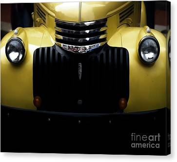 Vintage Chevy Pickup Truck Canvas Print by Steven  Digman