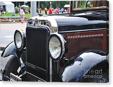 Vintage Dodge - Circa 1930's Canvas Print by Kaye Menner