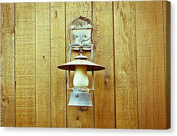 Vintage Lamp Canvas Print by Tom Gowanlock