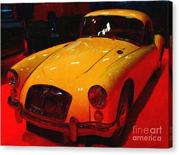 Vintage Mg Canvas Print by Wingsdomain Art and Photography
