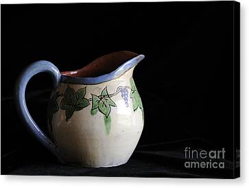 Vintage Pitcher  Canvas Print by Nancy Greenland