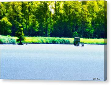 Virginia Tides Canvas Print by Bill Cannon