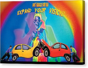 Vision Canvas Print by Mauro Celotti