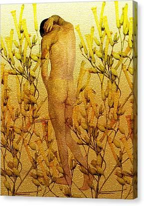 Vital Solitude Canvas Print by Kurt Van Wagner