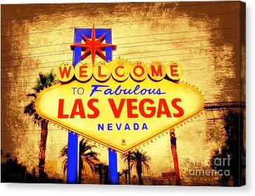 Viva Las Vegas Canvas Print by Kevin Moore