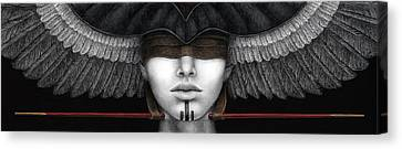 Voice From The Inner Horizon Canvas Print by Pat Erickson