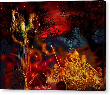 Von The Nacromancer Canvas Print by Steve Roberts