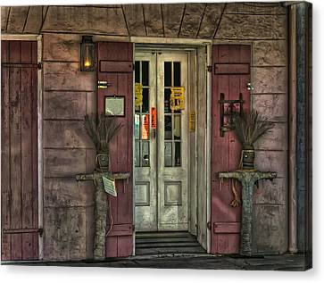 Voodoo Shop Canvas Print by Merja Waters