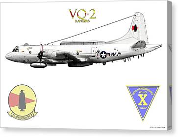 Vq-2 Rangers Canvas Print by Clay Greunke