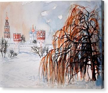 W 42 Moscow Canvas Print by Dogan Soysal