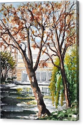 W 43 Moscow Canvas Print by Dogan Soysal