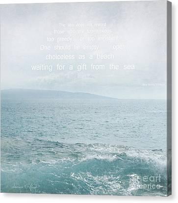 Waiola Water Of Life Canvas Print by Sharon Mau