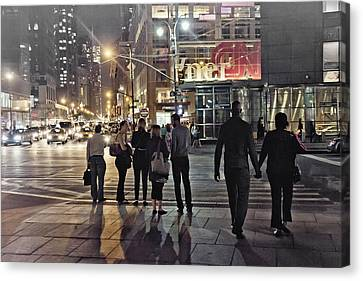 Waiting For The Green Light  Canvas Print by Alex AG
