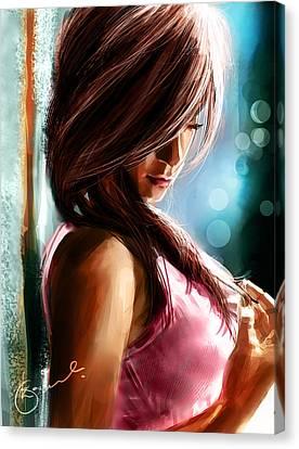 Waiting For U Canvas Print by Kiran Kumar