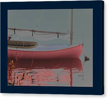 Waiting To Sail Canvas Print by Rene Crystal