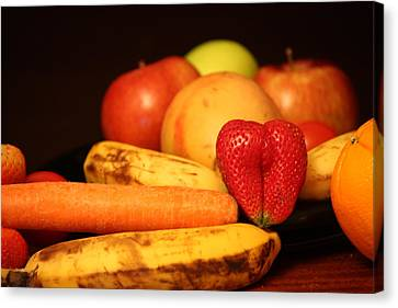 Wake Up - Fruit Is In The Air Canvas Print by Andrea Nicosia