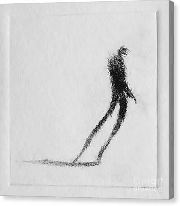 Walking I Canvas Print by Valdas Misevicius