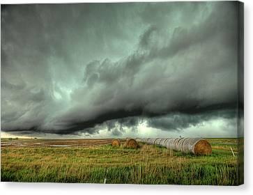 Wall Cloud Canvas Print by Thomas Zimmerman