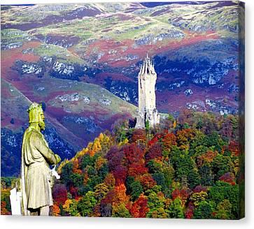 Wallace Autumn Colours Canvas Print by Patrick MacRitchie