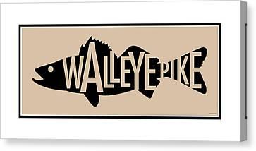 Walleye Pike Canvas Print by Geoff Strehlow