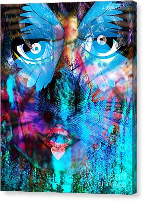 Wandering Thoughts - Untitled Desire Canvas Print by Fania Simon