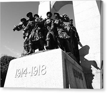 War Memorial Canvas Print by Kevin Gilchrist