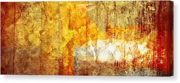 Warm Abstract Canvas Print by Brett Pfister