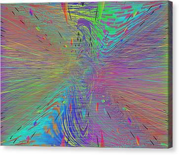 Warp Of The Rainbow Canvas Print by Tim Allen