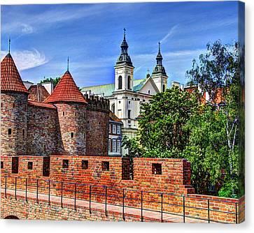 Warsaw Church Canvas Print by Jon Berghoff