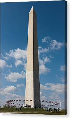 Washington Monument I Canvas Print by Clarence Holmes