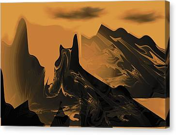 Wastelands Canvas Print by Maria Urso