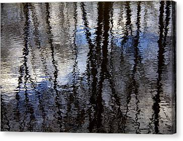 Water Color Canvas Print by Ed Smith