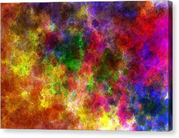 Water Space Canvas Print by Lance  Kelly