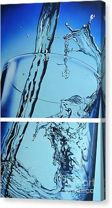 Water2heal Canvas Print by Rob Courtenay