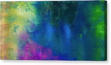 Waterfall Rain Canvas Print by Samar Asamoah