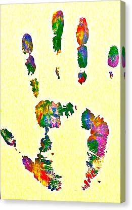 We Are As One Humanity Canvas Print by Gloria Warren