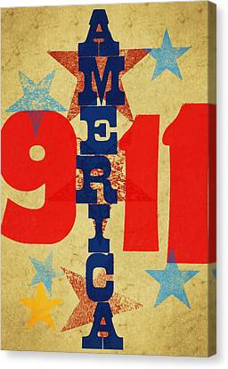 We Will Never Forget Canvas Print by Russell Pierce