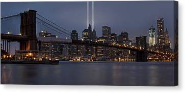 We Will Never Forget Canvas Print by Susan Candelario