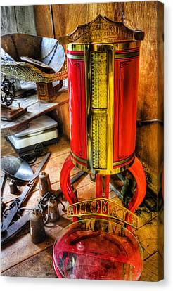 Weigh Your Goods - General Store - Vintage - Nostalgia Canvas Print by Lee Dos Santos